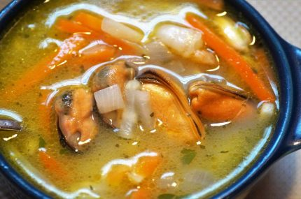 Fish and Mussels soup