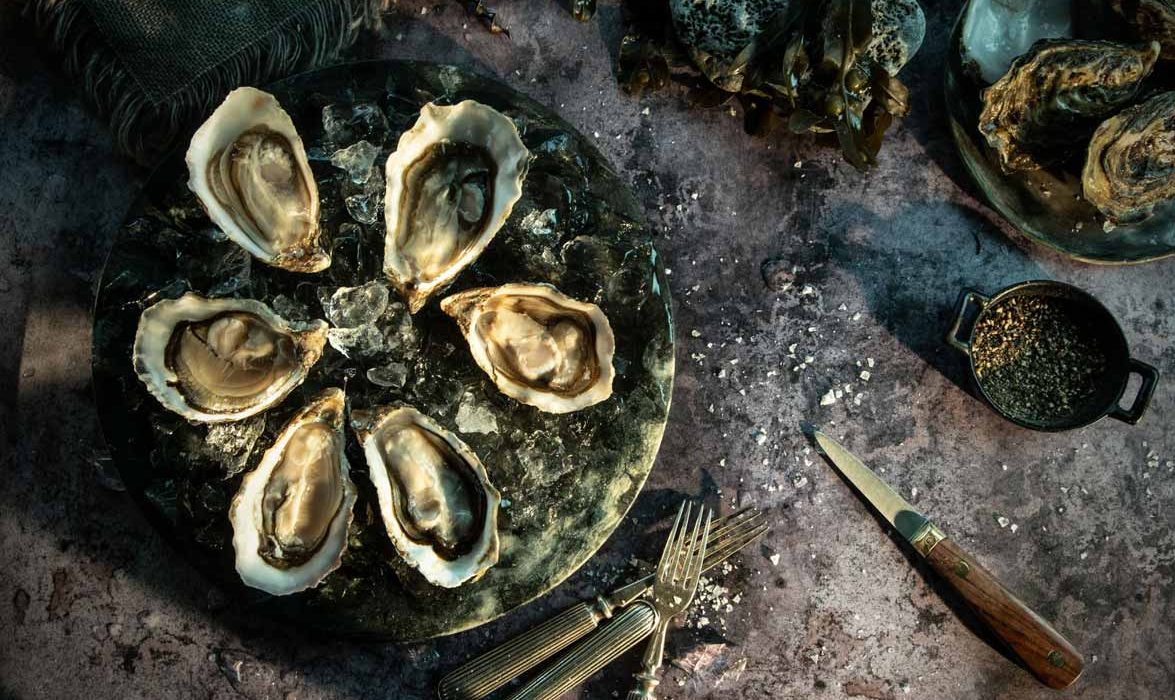 Mike O'Toole Gigas oysters